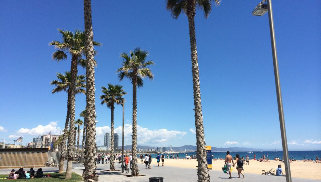 The Travel Athlete - Training und Sightseeing in Barcelona